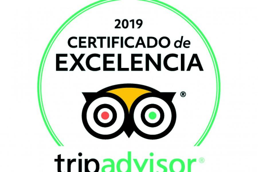 Ganadores de certificado de excelencia Trip advisor 2019